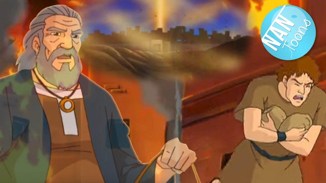 Download SODOMA Y GOMORRA   Historia biblica para niños   Antiguo Testamento   Dibujos animados de la Biblia