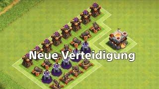 Clash of Clans Sneak Peek # 7 Neue Verteidigung + Frostzauber für Rathaus 9!!!