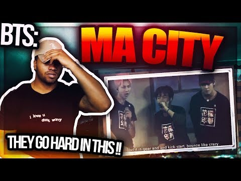 BTS (방탄소년단) MA CITY - (HYYH LIVE PERFORMANCE) #REACTION (MUST SEE!)