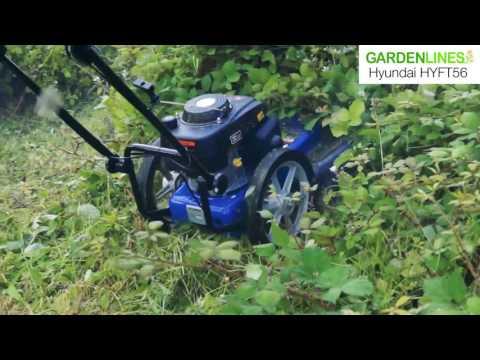 Hyundai Petrol Wheeled Rough Grass Trimmer HYFT56