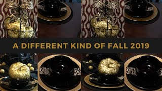 #ADifferentKindOfFall {{2019}} || How To Set Up A Tablescape || Fall Tablescape