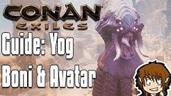 CONAN EXILES GUIDE: Gott Yog Religion - Lehrer, Boni & Avatar! [Conan Exiles Tutorial Deutsch]