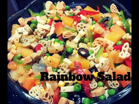 Rainbow Salad Recipe || Healthy Salad Recipe || Salad Recipe by Everyday Masala Cooking