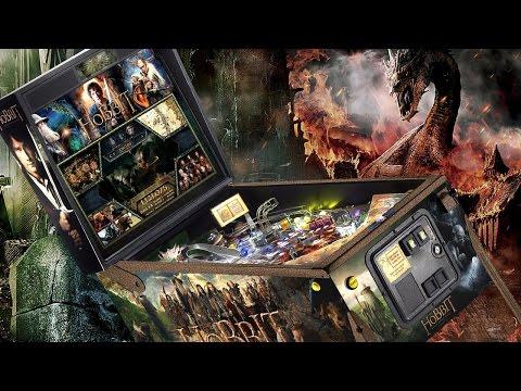 Unboxing An $8,500 'The Hobbit' Pinball Machine