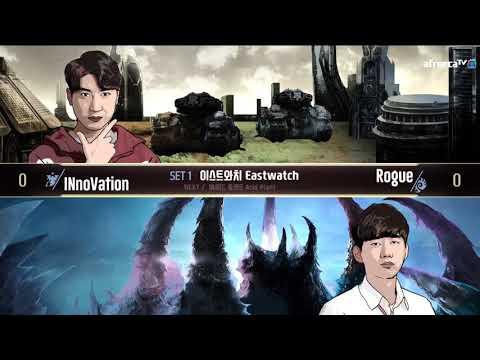 [2018 GSL SuperTournament I] Ro.16 Day2 Match1 INnoVation vs Rogue