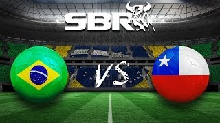 Brazil vs Chile (1-1) (3-2 penalty shoot out) 28.06.14 | 2014 World Cup Round of 16