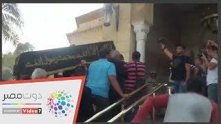 وصول جثمان حمدى قنديل لمسجد الرحمن الرحيم بصلاح سالم