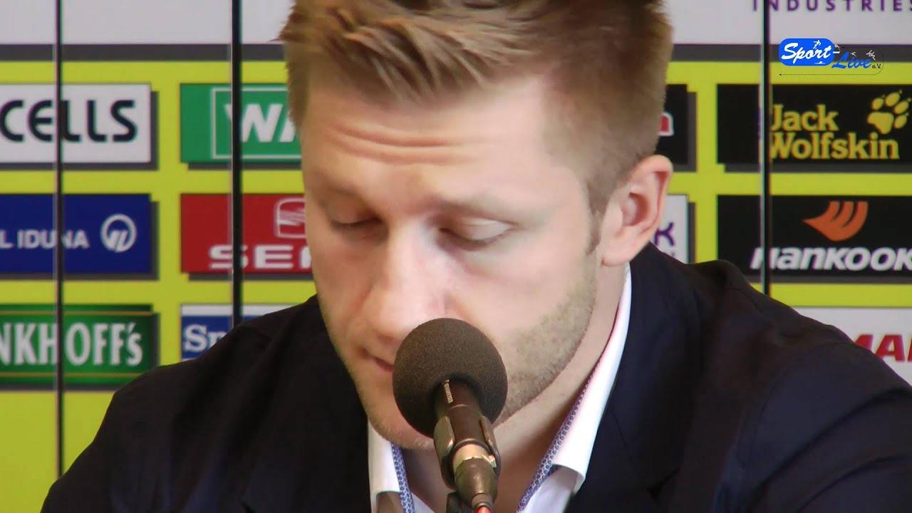 Fußball-EM 2012:  Pressekonferenz mit den 3 polnischen Akteuren vom BVB (Teil 3)