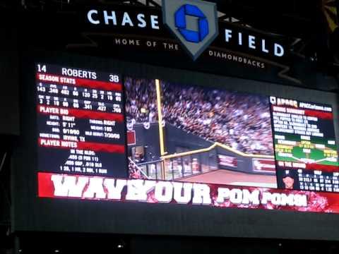 2011 NLDS Game 4 Brewers vs. Diamondbacks: Ryan Roberts 1st inning Grand Slam