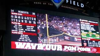 2011 NLDS Game 4 Brewers vs. Diamondbacks: Ryan Roberts 1st inning Grand Slam