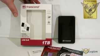Transcend 25A3 External USB 3 0 Portable HDD Overview and Benchmarks thumbnail