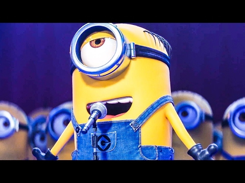 Thumbnail: DESPICABLE ME 3 'Minions Singing!' Movie Clip + Trailer (2017)