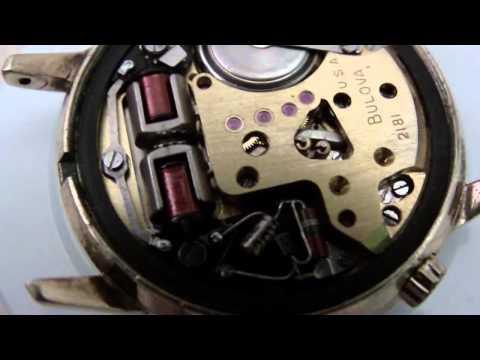 Bulova Accutron wrist watch, 2181