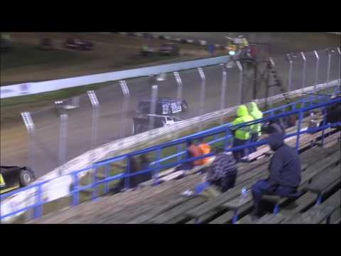 Crate Late Model Feature from Florence Speedway, April 8th, 2017.