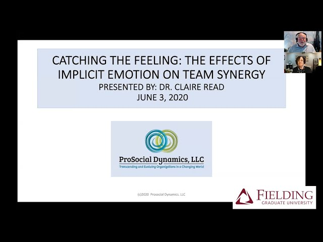 Catching the Feeling: The Effects of Individual Emotion on Team Synergy