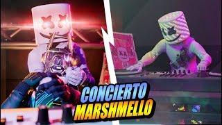CONCIERTO DE MARSHMELLO EN FORTNITE COMPLETO | Evento especial temporada 7
