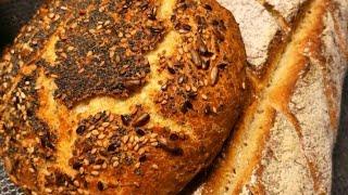 Супер рецепт Мягкий пористый хлеб с хрустящей корочкой Без усилий