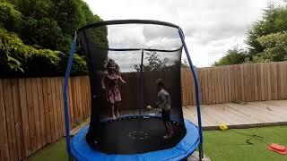 The Croy Trampoline Fun