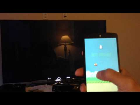 Android mirroring to Chromecast