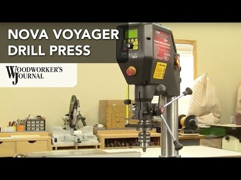 NOVA Voyager Drill Press Features