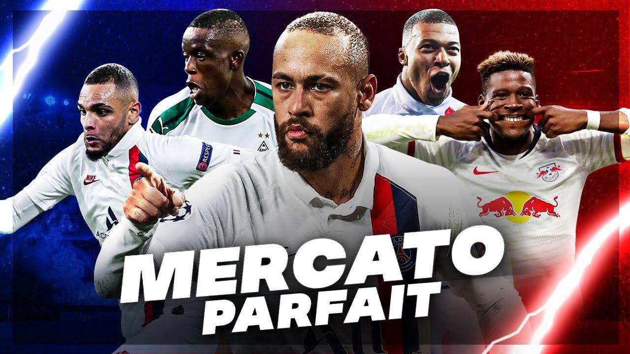 Le MERCATO IDÉAL pour le PSG avec 80M€