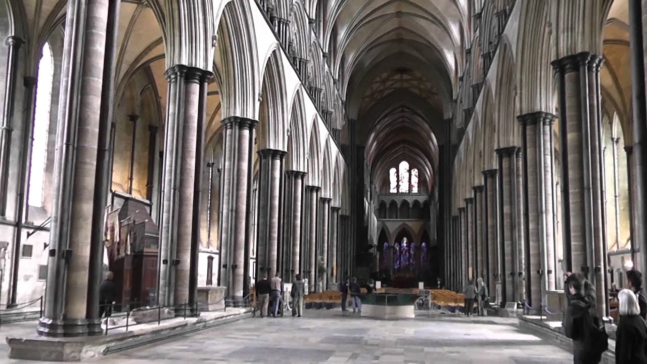 The Nave of Salisbury Cathedral - YouTube