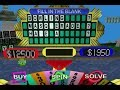 Wheel of Fortune (1998) | Playstation Longplay