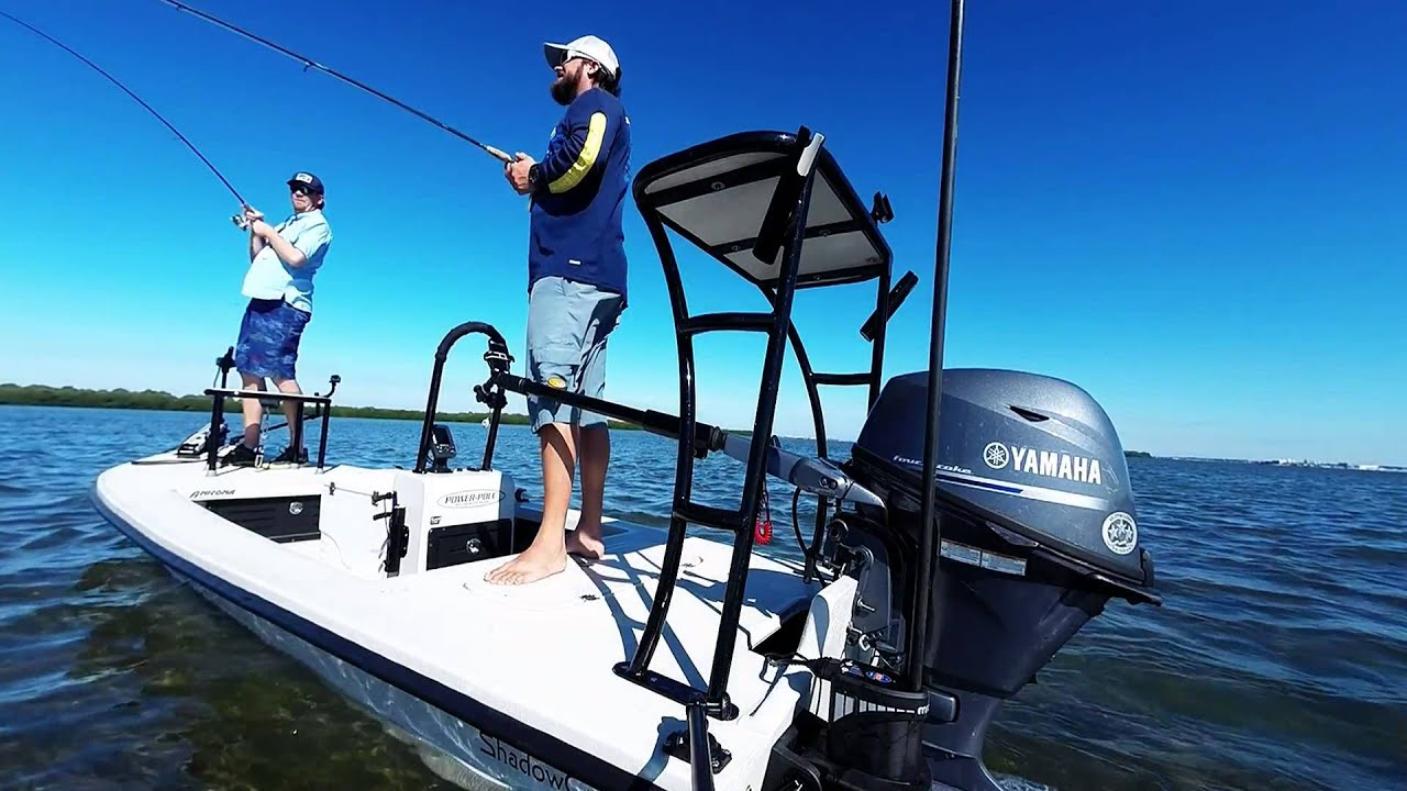 Power Pole Micro Anchor: Skinny Water Snook Caught Using