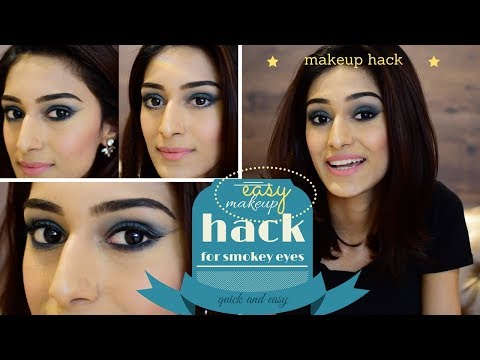 SMOKEY EYES MAKEUP HACK