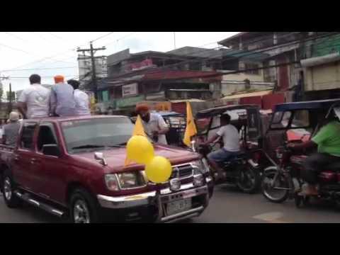 Nagar kirtan Santiago city Philippine