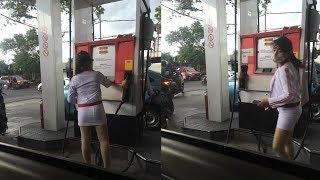 Pom Bensin Khusus Dilayani oleh Wanita Pakai Rok Mini, Bikin Pengin Ngisi Tangki Terus