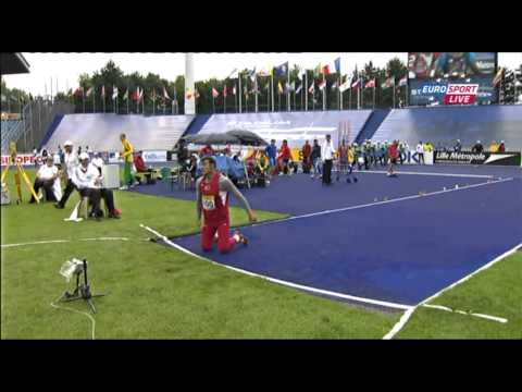 CR, Javelin Man Qualification (700g) ( World Youth Championships 2011, Lille)