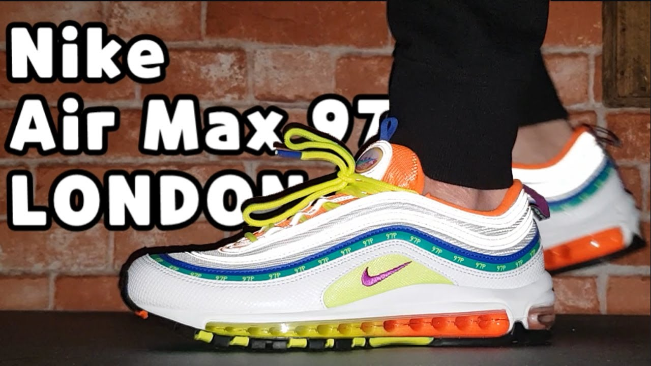 Nike Air Max 97 On Air London unboxing review