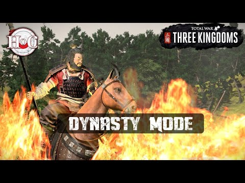 Total War: Three Kingdoms - DYNASTY MODE - Early Access Stream
