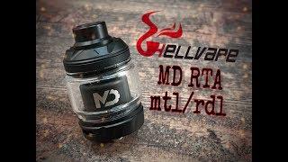 Hellvape MD mtl/rdl RTA presentation + build
