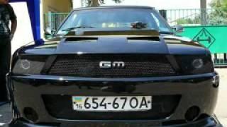 Тюнинг Москвича под Ford Mustang gt!
