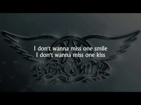 Aerosmith - I Don't Want To Miss A Thing (lyrics) [HD]
