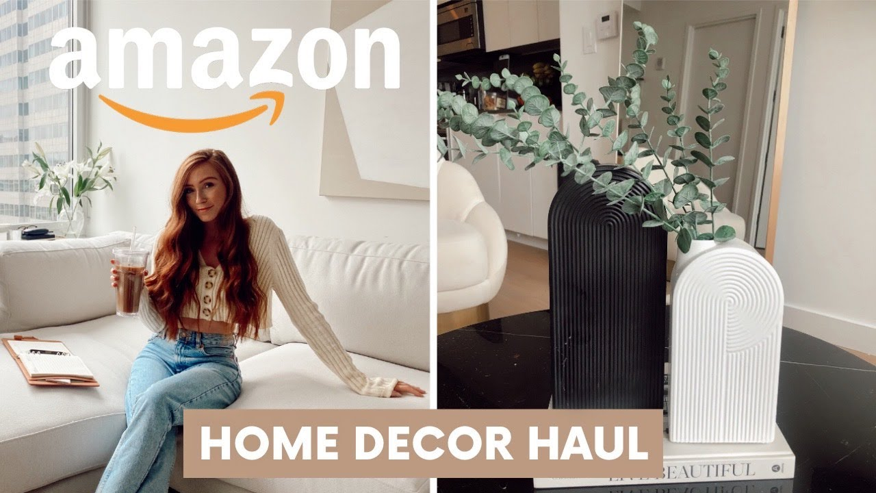 Amazon Home Decor Haul 2020 Nyc Apartment Youtube