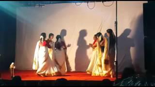 Thiruvathira - Kaithapoo Manamenthe - Gramavedi nooranad Onam 2015