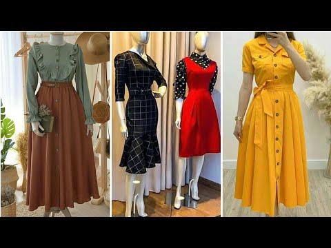 elegant-&-simple-dresses-for-2020-2021-|-asian-fashion-dresses