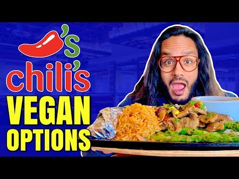 CHILI'S GOES VEGAN / HOW TO ORDER VEGN AT CHILI'S