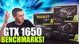 NVIDIA GTX 1650 Review + BENCHMARKS [ASUS, GIGABYTE, MSI, PALIT]