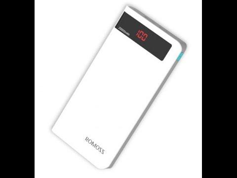 Внешний аккумулятор Yoobao Power Bank M20 20000 mah - YouTube