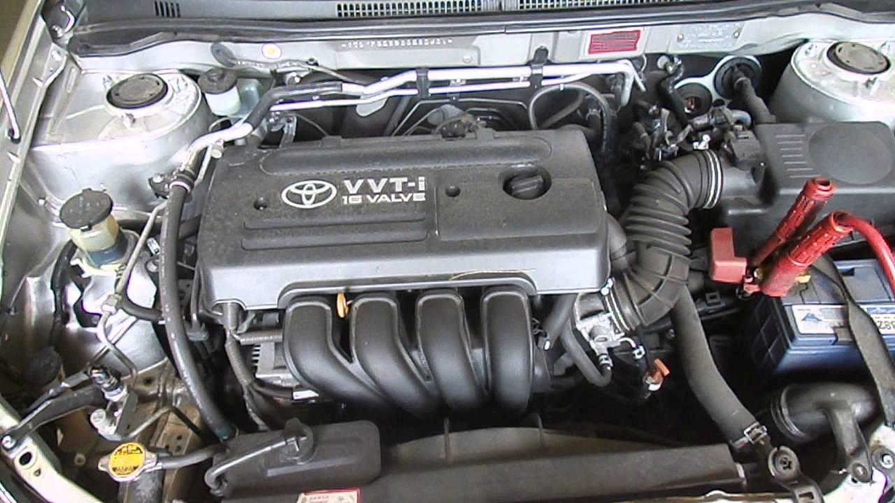 Wrecking 2006 Toyota Corolla 1 8 1zz Zze122 J13435