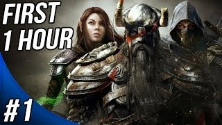The Elder Scrolls Online Walkthrough Part 1 Gameplay Let