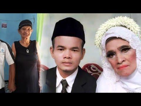 Sempat Viral Pemuda 28 tahunmenikahi Wanita 78 tahun di Bogor, Kini sang istri Sedang hamil 7 bulan