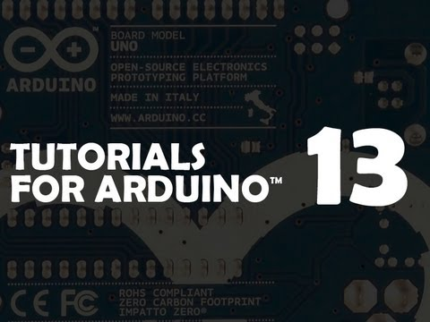 Tutorial 13 for Arduino: Liquid Crystal Displays (LCDs)