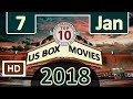 Download Box office 2018 top 10 ( 7 January ) this weekend box movies
