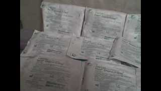 Lot of 12 Bard Dispoz-A-Bag large 32 oz. Catheter bag Leg Bag 150103