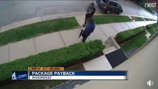 Package payback: Woman leaves smelly surprise for package thieves